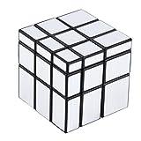 3x3x3 Blocchi specchio compatti e portatili Silver Shiny Magic Cube Puzzle Rompicapo IQ Kid Divertente in tutto il mondo Ottimo regalo