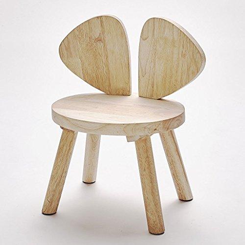 LongYu Kinderstuhl Massivholz Flügel Stuhl Kinderzimmer Dekoration Mini Hocker Schießen Requisiten (Mini-falte-stuhl)