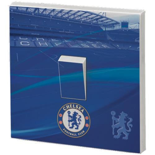 Chelsea FC Official Football Gift Light Switch Skin - A Great Christmas Birthday Gift Idea For Men And Boys