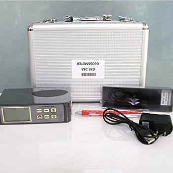 Tr-z-gm-268 Digitaler Lcd Glanzmessgerät Usb Schnittstelle Rs-232 Datenausgabe 0,1 ~ 200gu 20 ℃ 60 ℃ 85 ℃ Glanzmesser Vancometer 3