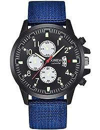 OHQ Reloj Militar De Acero Militar Fecha Militar Cuarzo AnalóGico Vestido Ocasional EjéRcito Relojes Pulsera Reloj Inteligente Marcar Reloj Reloj ElectróNico
