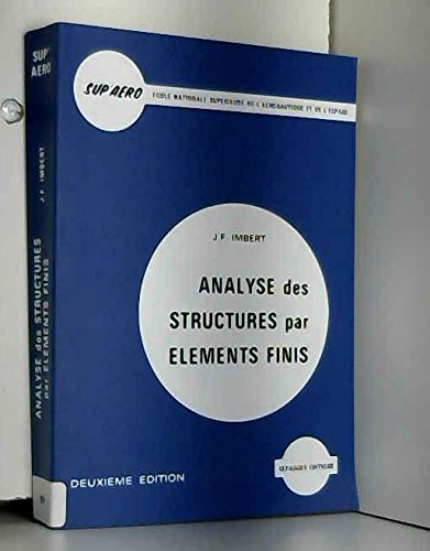 Téléchargement Pdf Livre Analyse Des Structures Par éléments Finis
