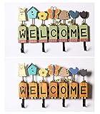 Mauer Kleiderbügel, Praktischen Täglichen Notwendigkeiten, Wände, Hölzernen Damen - Kleider - Shop, Passende Zimmer, Mauer, Kleiderbügel,Gelb