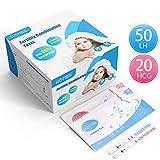 HOMIEE Kits de Tests de Ovulación y Fertilidad, Pruebas De Embarazo...