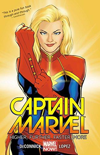 Preisvergleich Produktbild Captain Marvel Volume 1: Higher,  Further,  Faster,  More