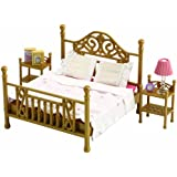 Sylvanian Families Luxury Brass Bed