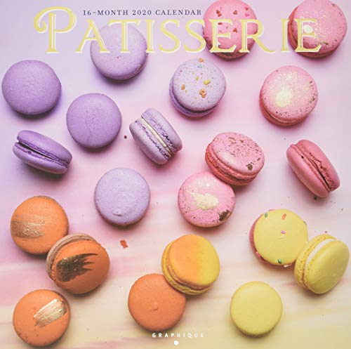 Patisserie 2020 Square Wall Calendar