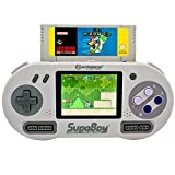 SupaBoy Pocket Portable Handheld SNES console Compatible - Nouveau Coffret