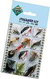 Streamer Angelset 12 Forellenstreamer Forellen Fliegen Angel Set Raubfisch Köder Hechtstreamer Forellenköder Kunstköder auf Amazon