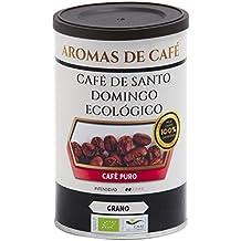 Aromas de Café - Café en Grano De Santo Domingo Ecológico/Procedente de Barahona,