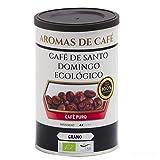 Aromas de Café - Café en Grano De Santo Domingo Ecológico/Procedente de Barahona, la Mejor Región de Cultivo de la República Dominicana, 100 gr