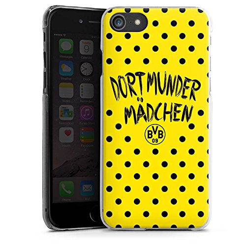 Apple iPhone X Silikon Hülle Case Schutzhülle Dortmunder Mädchen Borussia Dortmund BVB Hard Case transparent