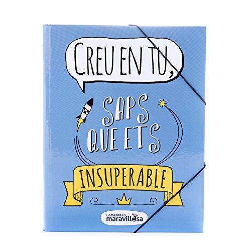 La mente es maravillosa -Carpeta frase y dibujo divertido para regalar-CREE/CAT