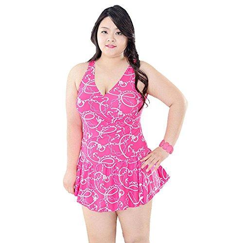 AMYMGLL Frauen Bikini Körper Badeanzug Europa und den Vereinigten Staaten Hot Spring Resort Badeanzug hohe Elastizität Umweltschutz 3