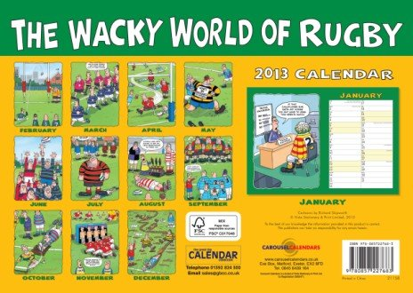Wacky World of Rugby 2013: Appointment