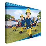 Bilderwelten Leinwandbild - Feuerwehrmann Sam - Feueralarm - Querformat 2:3, 40cm x 60cm