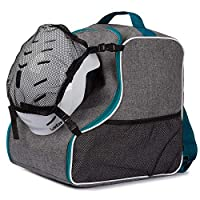 Ferocity SKI SNOWBOARD BOOT BAG Cover for ski boots with Removable mesh pocket Len Turquoise with Mesh [054]