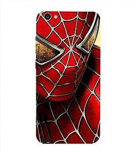 Spiderman Printed Back Cover for Vivo V5S