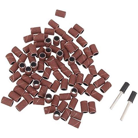 100pcs 1/4 pulgadas kit De Bandas De Lijado Con Lija De Mandriles De Batería 2 Para Herramientas Rotativas