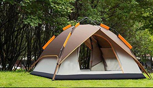 XIXI Festival Plain Dome Camping Wandern Wasserdicht Kompakt 3-4 Personen Man Zelt Outdoor ( Graydual (Kleinkind Spielzeug Geschichte Stiefel)