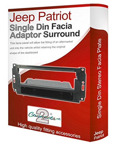 Jeep Patriot Stereo Radio Schacht Faszie-Aadapter-Ppanel, Zierteilen CD Surround Auto