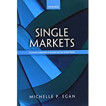 Single Markets: Economic Integration in Europe and the United States