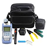 Photo de Yofafada FTTH Tool Kit with SKL-6C Fiber Cleaver Optical Power Meter 10mW Locator Multi-Color Mixed par Yofafada