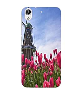 HTC DESIRE 626 WINDMILL Back Cover by PRINTSWAG