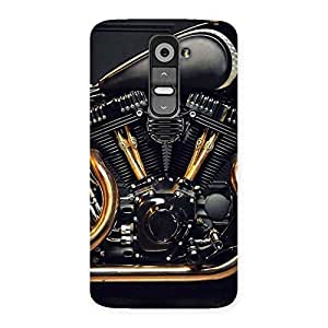 Stylish Awesome Cruise Engine Back Case Cover for LG G2