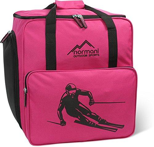 normani Skischuhtasche Helmtasche Skischuhrucksack Alpine DEPO - Limited Edition - Farbe Pink