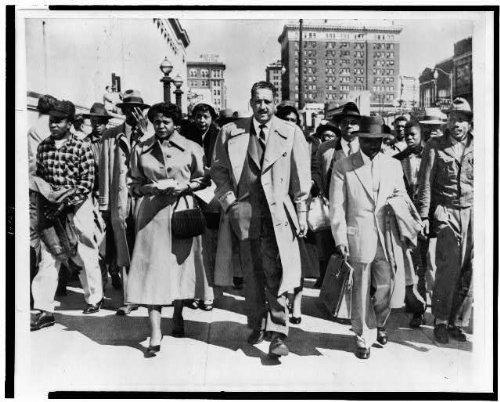 Foto: Birmingham, AL, negro Court-Eine Lucy, T Marshall, eine Shores