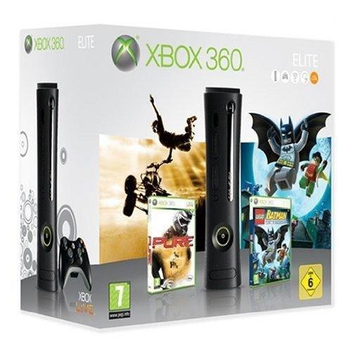 Xbox 360 - Konsole Elite 120 GB inkl. LEGO Batman + Pure (Batman-neue Sets Lego)