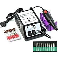 hengmei 10 W Eléctrico (Fresas para uñas Lima de uñas Manicura Pedicura 20000 U/min perforación Tensiómetro eléctrica.