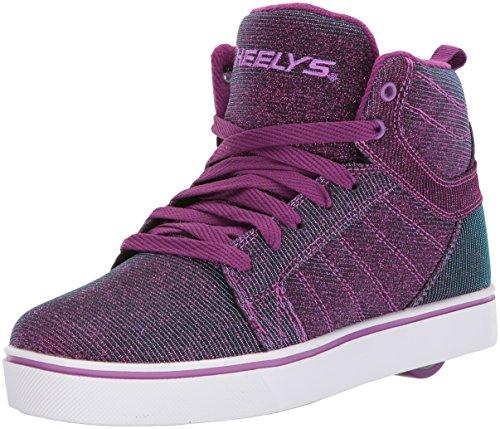 Heelys Uptown Disco Schuhe lila-blau Berry-Aqua Coolourshift, (Schuhe Disco)