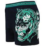2|4|5|6|8|9|12er Pack Pesail Herren Boxershorts Retroshorts Männer Unterhosen Unterwäsche aus Baumwolle in Tiger-Motiv Design Gr.M 5 L 6 XL 7 2XL 8 3XL(L,4er)