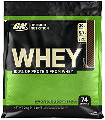 Optimum Nutrition ON Whey Whey Protein Powder Low Sugar Whey Protein Shake by ON by OPTIMUM