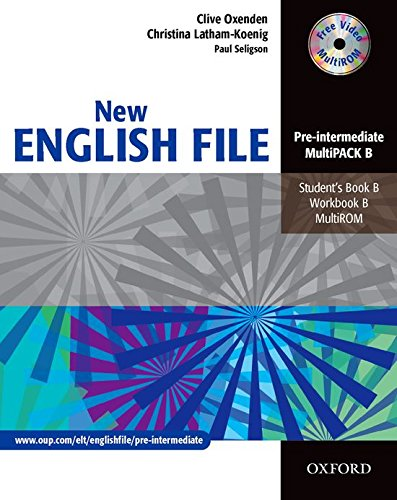 New English File Pre-Intermediate. MultiPACK B: Multipack