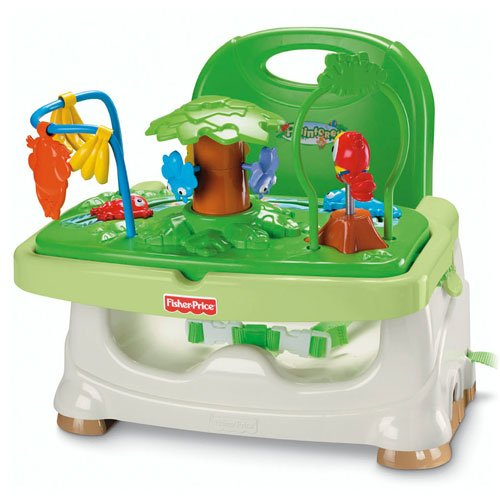 Image of Fisher-Price Rainforest Healthy Care Booster Seat