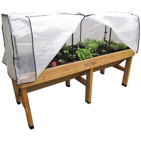 Medium VegTrug 1.8m PE Cover and Frame - Vegetable Protector