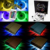 WOWLED RGB LED USB K�hler L�fter Fan St�nder PS4 Playstation 4 Zubeh�r with Fernbedienung f�r Konsole Laptop Notebook ? Bild