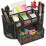 Callas Metal Mesh Desk Organizer, Black LD 708-05