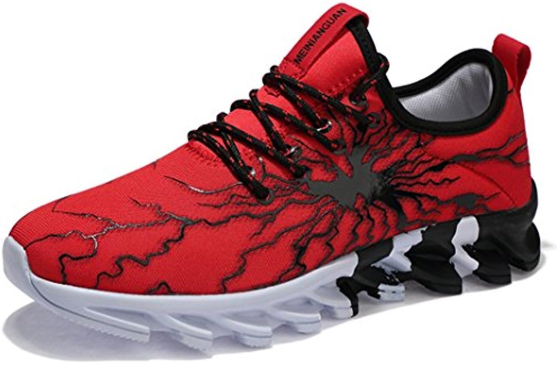 SUADEEX Hombre Zapatillas de Gimnasia Zapatillas de Deportes Zapatos para Correr Zapatillas de Running