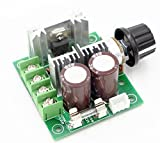 #1: REES52 12V-40V 10A PWM DC Motor Speed Controller w/ Knob--High Efficiency, High Torque, Low Heat Generating with Reverse Polarity Protection, High Current Protection