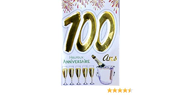Age Mv 69 2046 Carte Anniversaire 100 Ans Homme Femme Motif Flutes Bouteille Champagne Feu Dartifice Studiovitorcampos Com Br