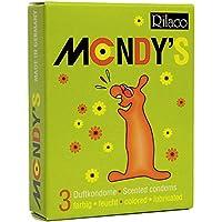 RILACO Kondome Mondy's 3 Stück, 1er Pack (1 x 3 Stück) preisvergleich bei billige-tabletten.eu
