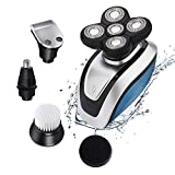 Electric Razor for Men Bald Had Shaver 5 in 1 Electric Shaver Kit