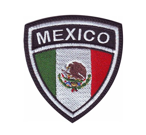 MAREL Patch Flag Bandera MÉXICO parche termoadhesivo