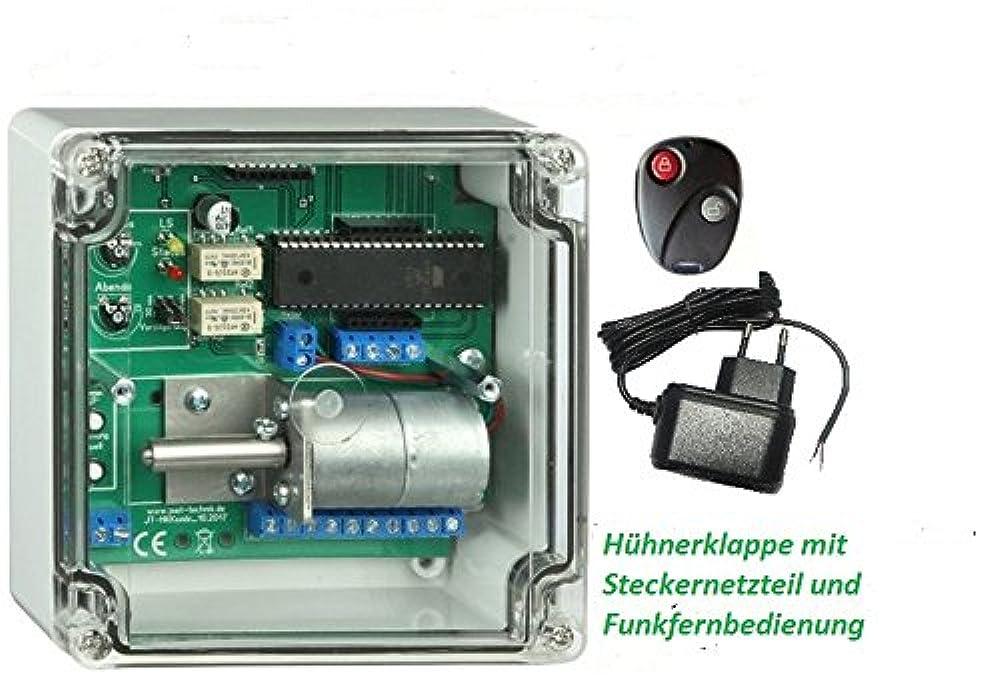 Automatische Hühnerklappe mit Funkfernbedienung elektronischer Pförtner
