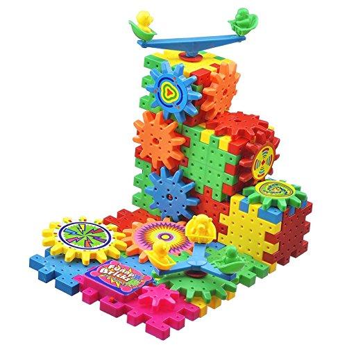 HenMerry Elektrische Bausteine 81 Stück Pro Set Pädagogisches Spielzeug Gehirn Spiel Für Kinder Spielzeug Ziegel Lustige Spielzeug Kunststoff Block (Dinge, Die Mädchen Gerne)
