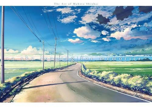 Sky Longing For Memories, A : The Art of Makoto Shinkai por Makoto Shinkai